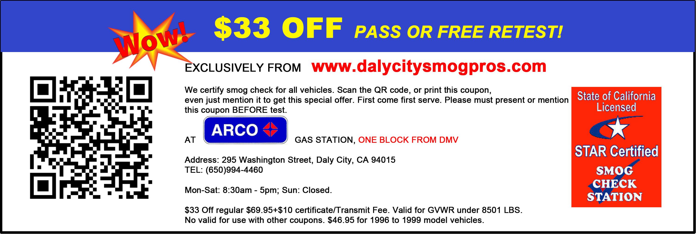 Daly City Smog Check